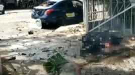 Pelaku Bom Bunuh Diri Tewas dan Sembilan Orang Luka-luka