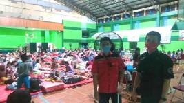 Agar tak Jenuh, Pengungsi Terdampak Kebakaran Tangki Kilang Balongan Dapat Bantuan Akses Wifi Gratis