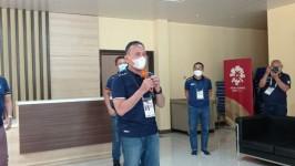 Ketua Umum PSSI Mochamad Iriawan Mengecek Protokol Kesehatan Piala Menpora 2021