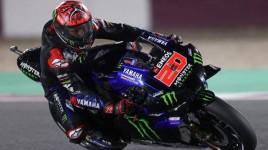 MotoGP 2021, Fabio Quartararo Sukses Finis di Urutan Pertama di Sirkuit Losail Qatar