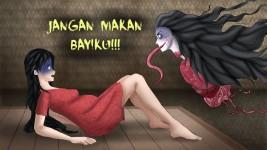 Misteri Hantu Palasik, Penganut Ilmu Hitam Pemakan Janin, Asal Minangkabau