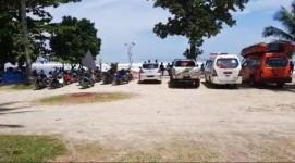 Tim SAR di Hari ke Empat Masih Belum Menemukan Jasad Korban yang Tenggelam di Pantai Karapyak