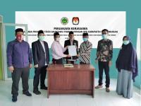 KPU Pangandaran dan STITNU Al Farabi Tandatangani MoU Sebagai Bentuk Jalin Kerjasama