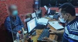 Resmob Satreskrim Polres Ciamis Amankan Pelaku Penipuan CPNS yang Beraksi di Pangandaran