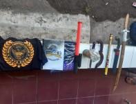 Pasca Bentrokan, Polisi di Karawang Amankan Bom Molotov dan Berbagai Sajam