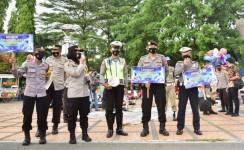 Polres Banjar Sosialisasikan Prokes dan Kebijakan Pemerintah Terkait Larangan Mudik