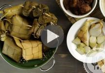 Kuliner Nusantara, Cara Membuat Ketupat Pulen dan Kenyal Anti Gagal