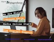 Dibuka Lowongan Kerja Digital Media Online Staff Untuk Beberapa Posisi, Cek Berikut Ini
