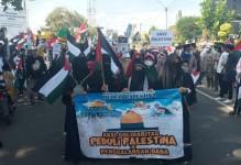Peduli Palestina, Aliansi Masyarakat Pangandaran Lakukan Aksi Solidaritas