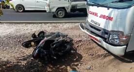 Ambulans Pembawa Jenazah di Pangandaran Tabrakan Beruntun