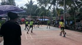 Pererat Tali Silaturahmi, Warga Desa Kujangsari Banjar Gelar Turnamen Bola Voli