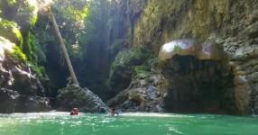 Cukang Taneuh, the Mystical but Exotic Green Canyon Pangandaran Tourism Object