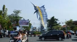 Tugu Ikan Marlin Jadi Ikon Pemkab Pangandaran, Begini Penjelasan Disparbud