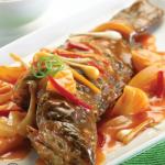 Resep Masakan, Ikan Kerapu Saus Cuka Karamel Mantap dan Maknyus
