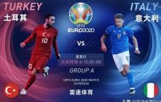 Italia Hajar Turki, dengan Skor 3-0 di Pembukaan EURO 2020