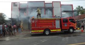 Kantor Dinas PUTRPRKP Pangandaran Terbakar, Penyebab dan kerugian Belum Diketahui