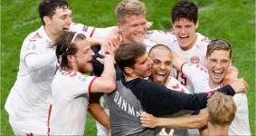 Euro 2020: Denmark Pesta Gol 4-0 di Gawang Wales, Italia Susah Payah Menghadapi Austria