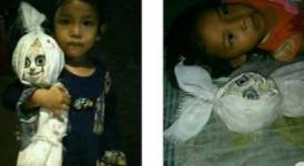 Seram, Seorang Anak Suka Bermain dan Tidur dengan Boneka Pocong