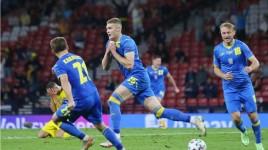 Hasil EURO 2020 - Kemenangan Dramatis Ukraina Menumbangkan Swedia