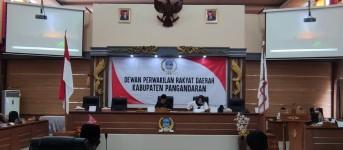 Inilah Belasan Poin RAPERDA RPJMD 2021-2026 yang Diperbaiki Pansus V DPRD Pangandaran