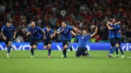 Italia Sukses Masuk Final Euro 2020, Setelah Menang Adu Finalti dengan Spanyol