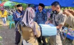 Satpol PP Bubarkan Resepsi Hajatan Warga Desa Cibenda Pangandaran Dimasa PPKM Darurat