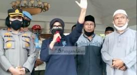 Pasca Ricuh, Wali Kota Banjar Akhirnya Temui Ratusan Massa Aksi di Pendopo