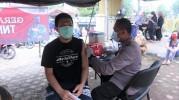 Cegah Penyebaran Virus, Polres Ciamis Kembali Menggelar Vaksinasi Massal