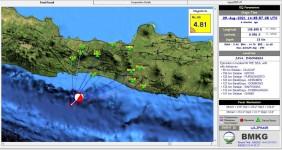 Warga Pangandaran Rasakan Guncangan Gempa Bumi Cilacap Berkuatan 4,8 SR