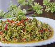 Resep Masakan, Cara Membuat Tumis Bunga Pepaya dan Teri Anti Pahit yang Bikin Makan Berselera