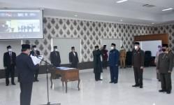 Bupati Pangandaran Lantik Tiga Pejabat Tinggi Pratama Hasil Open Bidding