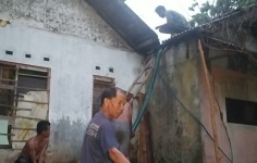 Rumah Warga di Pangandaran Terbakar, Korban Alami Kerugian Puluhan Juta