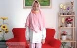 Keren! Pelukis Cilik Asyifa Harumkan Nama Kabupaten Pangandaran pada Ajang FL2SN 2021