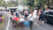 Innalillahi, Seorang Pemotor di Pangandaran Tewas Terlindas Minibus, Pelaku Langsung Tancap Gas Kabur