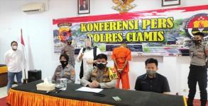 Sempat Buron, Pelaku Penganiayaan di Kalipucang Berhasil Dibekuk Satrekrim Polres Ciamis