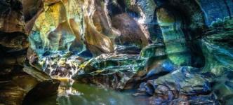 Hidden Canyon, Pemandangan Surga Tersembunyi di Beji Guwang yang Mengagumkan