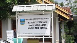 Lima OPD Dijabat Plt, BKPSDM Pangandaran Usulkan Lelang Jabatan Terbuka JPTP ke KASN