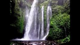 Pesona Wisata Kebun Kopi Senaru dengan Air Terjun Sendang Gile dan Tiu Kelep dari Mata Air Gunung Rinjani