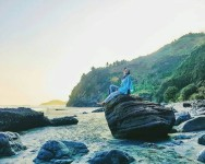 'Small Heaven' in Kebumen City, Surumanis Beach with Exotic Charm