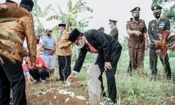 Bupati Ciamis Ikuti Upacara Ziarah Taman Makam Pahlawan dalam Rangka HUT TNI ke-76