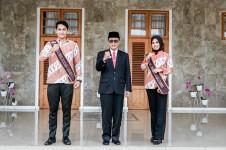 Bupati Ciamis Lepas Peserta Pasanggiri Mojang Jajaka Jawa Barat Tahun 2021