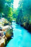 Destinasi Wisata Tasikmalaya, Tonjong Canyon Sungai Jernih dengan Tebing bak Diukir