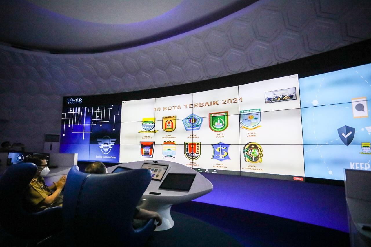 Inovasi Buruan SAE Kota Bandung Mendapat Penghargaan dari Presiden Joko Widodo