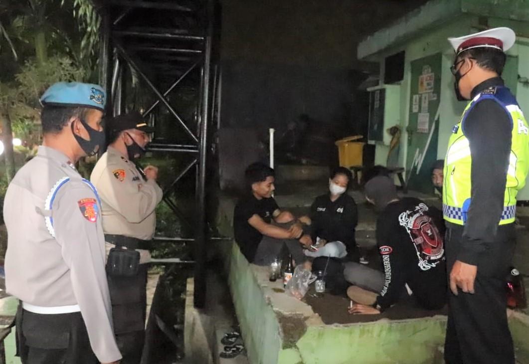 Tekan Tindak Kriminalitas, Polisi di Ciamis Intens Laksanakan Patroli