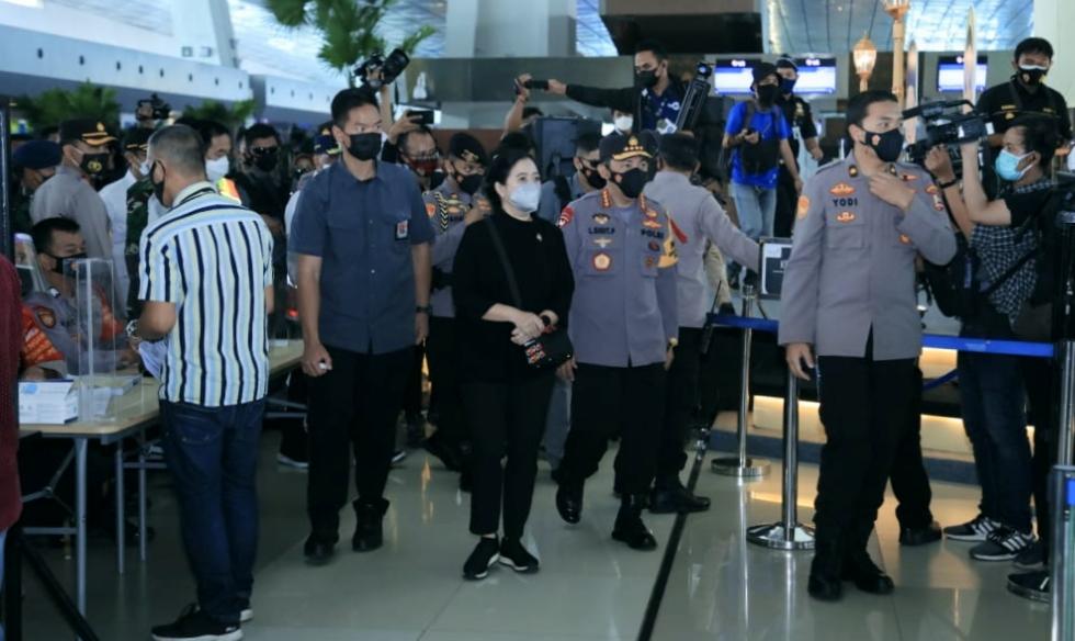 Tinjau Arus Mudik di Bandara Soetta, Kapolri Minta Perketat Pengawasan WNA