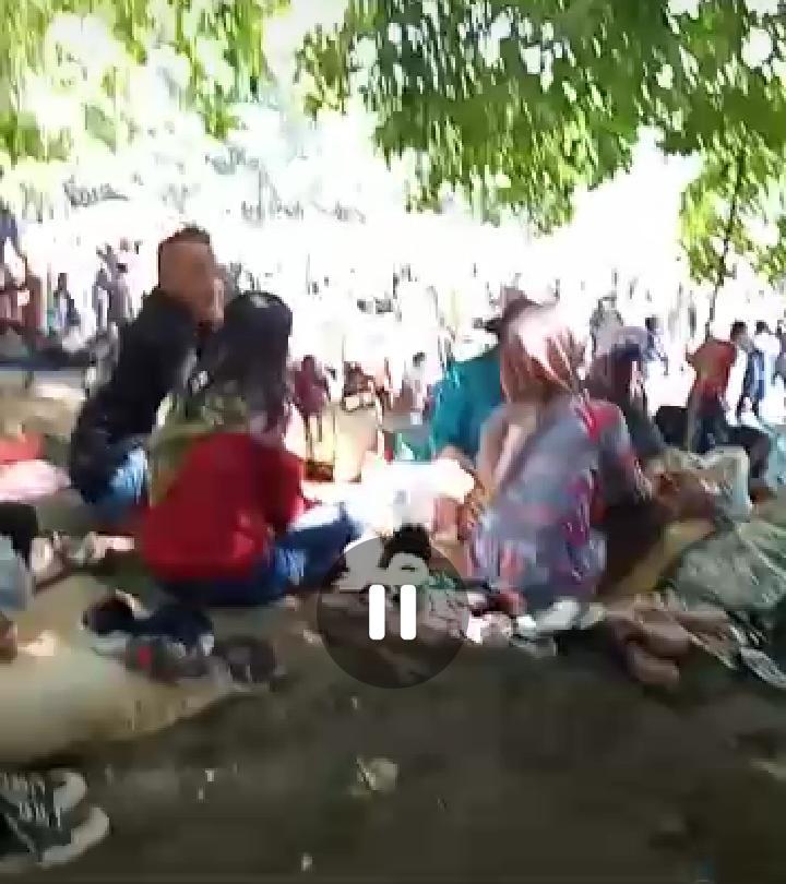 Viral, Video Kerumunan di Pantai Pangandaran, Obyek Wisata Batu Karas Ditutup