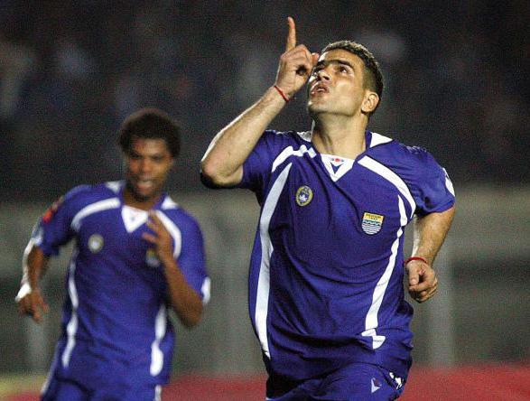 Gol Terakhir Cristian Gonzales untuk Persib Dicetak ke Gawang Deltras