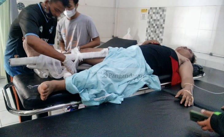 Alami Patah Tulang, Relawan Escorting Ambulans yang Terlibat Tabrakan Beruntun Dirujuk ke RSU Siaga Medika Banyumas