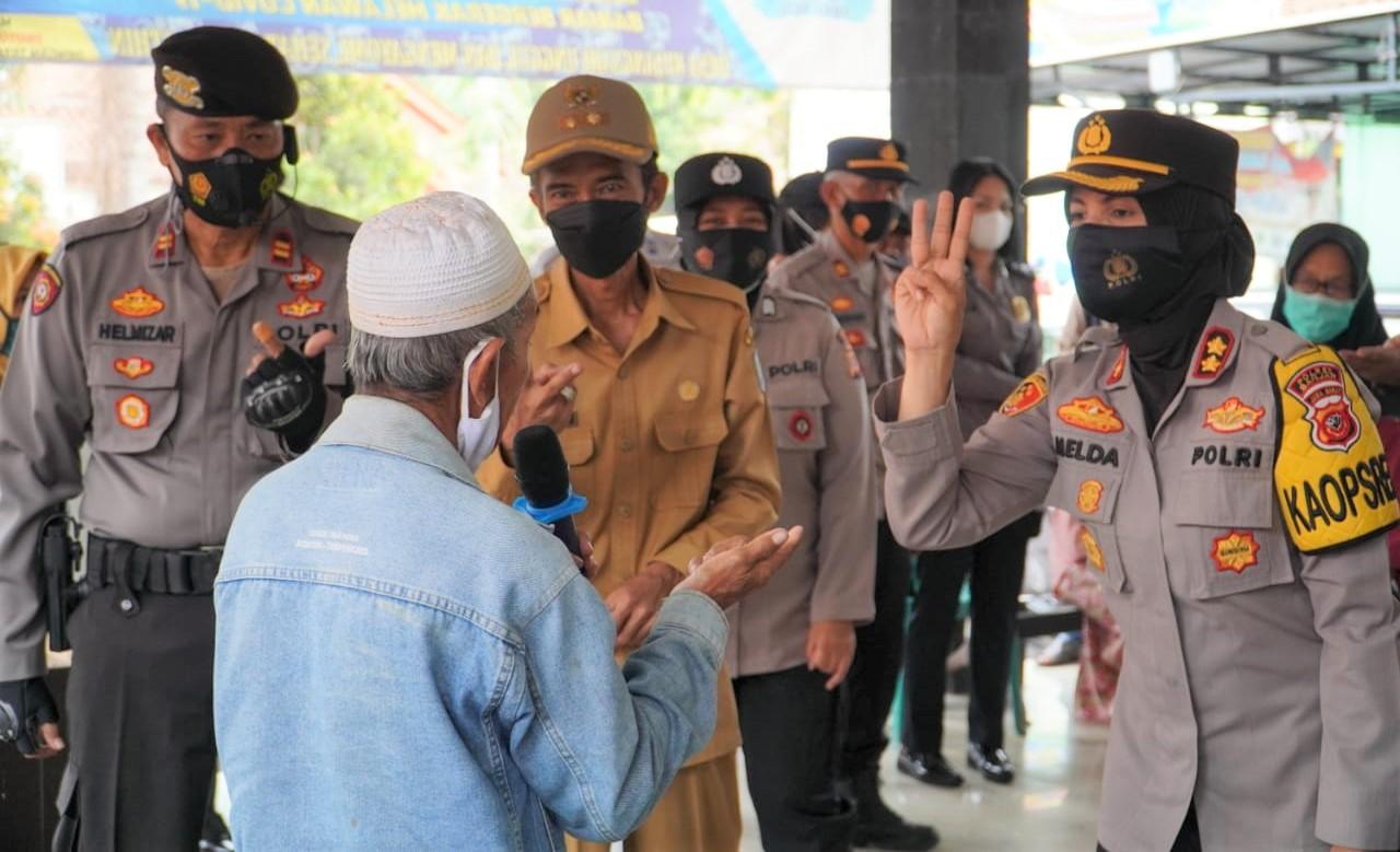 Ratusan Lansia di Wilayah Kota Banjar Divaksinasi Covid-19