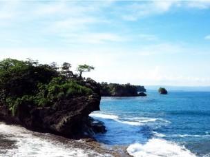 Madasari Beach Hidden Paradise in Masawah Village, Pangandaran Regency